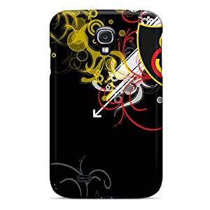 For Galaxy S4 Tpu Phone Case Cover(galatasaray Black)