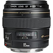 Canon EF 85mm f/1.8 USM Medium Telephoto Lens for Canon SLR Cameras