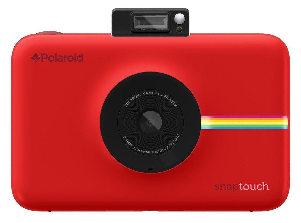 39c04b9d46908f Polaroid Snap Touch - Appareil Photo Numérique à Impression Instantanée  avec Écran LCD et Technologie d Impression sans Encre Zink, Rouge   Amazon.fr  Photo ...
