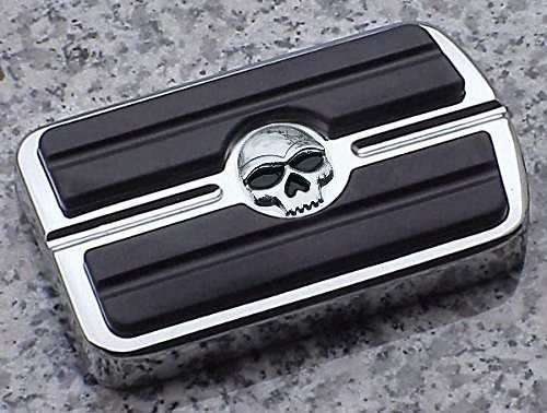 i5 Chrome Skull Rear Brake Pedal Cover for Harley Davidson. i5 Motorcycle