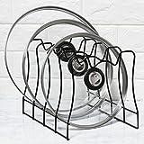 Simple Houseware Pot Lid Rack Holder