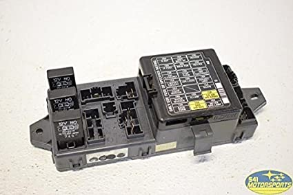 1998 Subaru Legacy Outback Cabin Fuse Box Panel Relay OEM