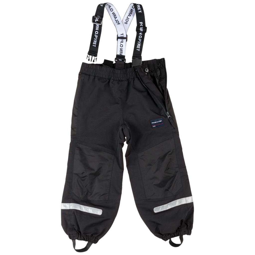 Polarn O. Pyret Waterproof Suspender Shell Pants (2-6YRS) - Meteorite/2-3 Years by Polarn O. Pyret
