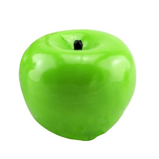 Moliies Verde Manzana Forma Frutas Vela Aromática Home ...