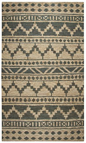 Rizzy Home Jute Area Rugs Whiwr962700550912 Rizzy Home Whittier Hand-Woven Area Rug 9 Ft. X 12 Ft. Green 108 X 144 X 0.42 Inches Green