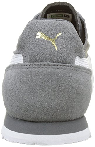 Nylon Puma Og Quiet Unisex Low Adults' Shade Grey Barbados Sneakers 02 Roma Top Cherry 03 7rqrIt