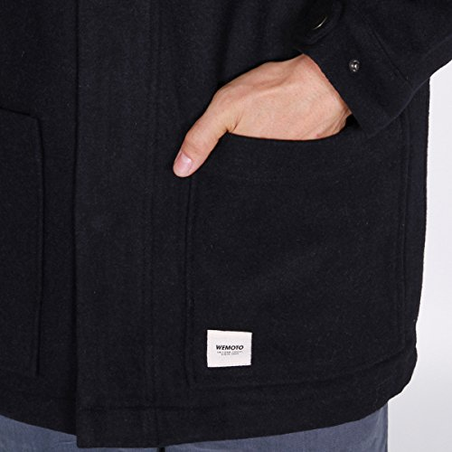 Jacket Blue Navy Dark Rabbit Wemoto 6w5qOO