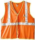 Carhartt Men's Big & Tall High Visibility Class 2 Vest,Brite Orange,XXXX-Large