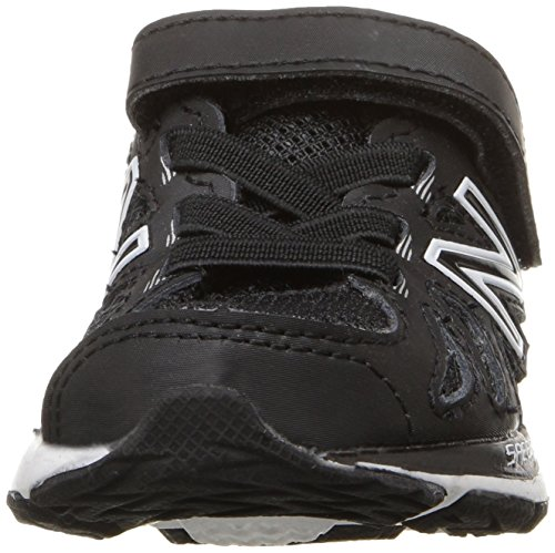 New Balance kv790 V6 Zapatilla de Running infantil (Infant/Toddler) Negro/Blanco