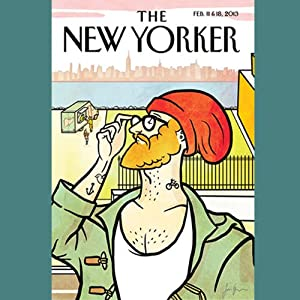 The New Yorker, February 11th & 18th 2013: Part 2 (Patrick Radden Keefe, James Surowiecki, David Denby) Periodical