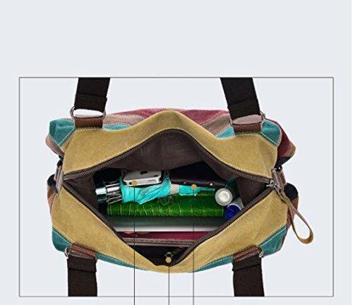 En Épaule Vintage Body Voyage A Toile Oblique Span Pack Sac Grande Sacs Un Portés a Nouveau Grand Nclon Bandoulière Capacité xqEwnBIF7C