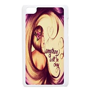 Customized Everything Will Be OK Ipod Touch 4 Cover Case, Everything Will Be OK Custom Phone Case for iPod Touch4 at Lzzcase