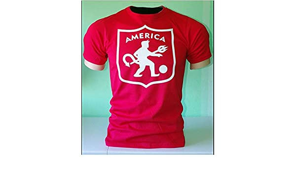 Amazon.com : America De Cali Colombia Futbol Soccer Camiseta T Shirt : Sports & Outdoors