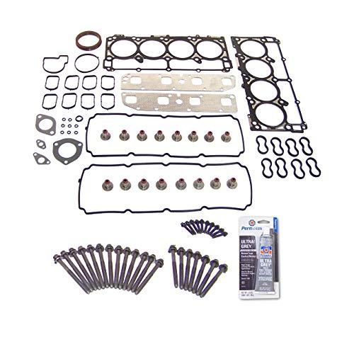 Head Gasket Set Bolt Kit Fits: 03-06 Dodge Jeep 5.7L 345 V8 OHV 16v VIN 2 Cu -