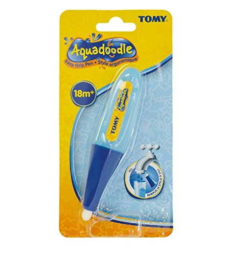 AquaDoodle Easy Grip Pen –  Mess Free Disegno Divertimento per Bambini dai 18 Mesi + Tomy 14778