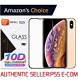 Virall Tech 10D Edge to Edge Clear Tempered Glass Screenguard for iPhone Xs Max