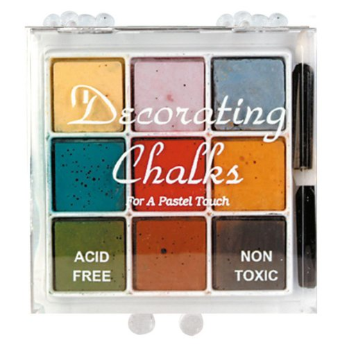 Craf-t Products Decorating Chalk 9 Color Set - Kit - Decorating Chalk Kit
