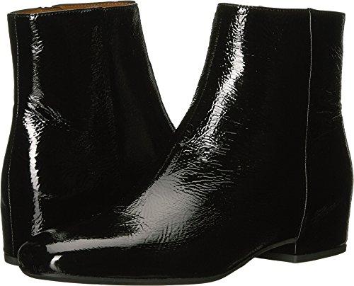 Aquatalia Women's Ulyssaa Naplak Ankle Boot, Black, 7.5 M US
