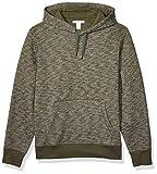 Amazon Essentials Men's Hooded Fleece Sweatshirt, Olive Space-Dye, XX-Large