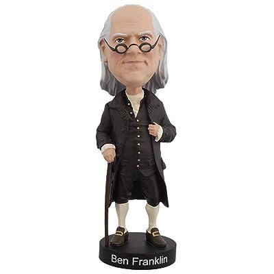 Royal Bobbles Benjamin Franklin V2 Bobblehead: Toys & Games