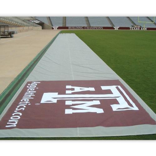 Bench Zone® 125' Turf Tarp - Football