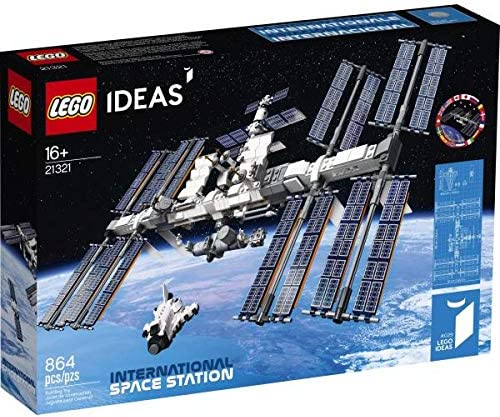 Lego Ideas: International Space Station Building Kit (864 Pieces, 21321)