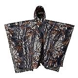 Hunting Rain Poncho,Camo Wet Weather Military Raincoat...
