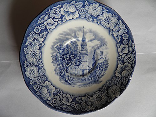 (Staffordshire Liberty Blue Saucer 5.75