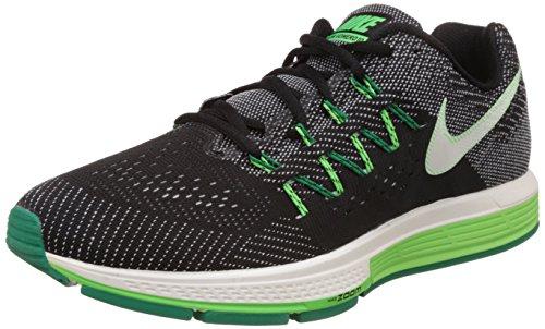 Nike Air Zoom Vomero 10 - Zapatillas de running Hombre Negro / Verde / Blanco (Black / Sail-Lcd Green-Vltg Grn)