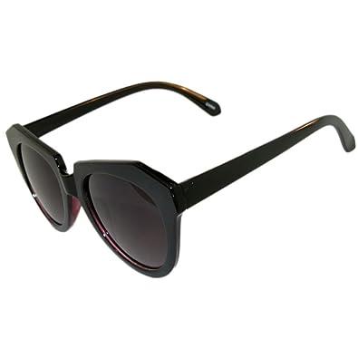 Amazon.com: Unusual! Triangular Frames with Round Bottom Sunglasses ...