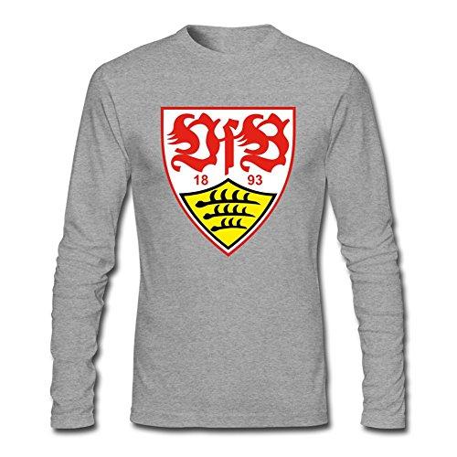 JXK Men's VfB Stuttgart club Logo Long Sleeve T-shirt XXL ColorName ()