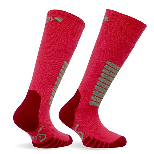 Eurosocks Jr. Ski Supreme Socks, Hot Pink, X-Small