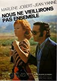 We Won't Grow Old Together [Blu-ray] (Version française)