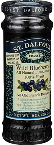 St. Dalfour Wild Blueberry Conserves, 10 Ounce (Pack of 6)