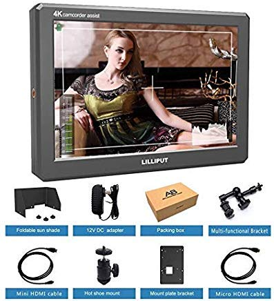 LILLIPUT A8 8.9 Inch Utra Slim IPS Full HD 1920x1200 4K HDMI 3D-LUT On-Camera Video Field Monitor for DSLR Camera Video BY USA official seller VIVITEQ by Lilliput