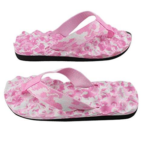 Chanclas Sandalias Zapatillas, FAMILIZO Zapatos Verano Mujer Sandalias Flip-Flops Sandy Beach Baño Cooler Zapatillas Zapatos Rosa