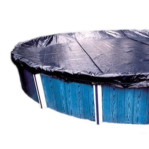 GLI Aquacover Estate Plus Bound 30-Feet Round Solid Winter Cover System for Above Ground Pools Ground Solid Winter Cover