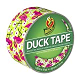 Duck 283041 Flamingo Printed Duct Tape, 1.88 Inches x 10 Yards, Single Roll Color: Flamingo Size: Single Roll Office Supply Product