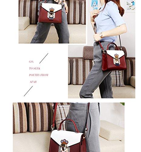 Fashion sacs les fourre main Sacs main bandoulière femmes C sacs d'épaule Design élégant à femmes des D pour Couleur à à tout wq6ICxIa4