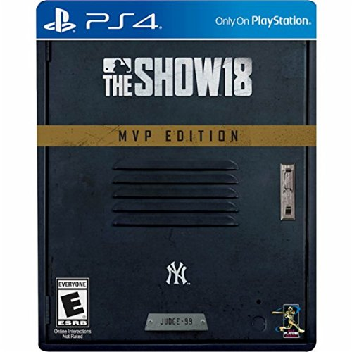 MLB The Show 18 MVP Edition - Limited Edition Steelbook Packaging - PlayStation 4