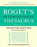 Roget's International Thesaurus, Barbara Ann Kipfer and Robert L. Chapman, 0061715220
