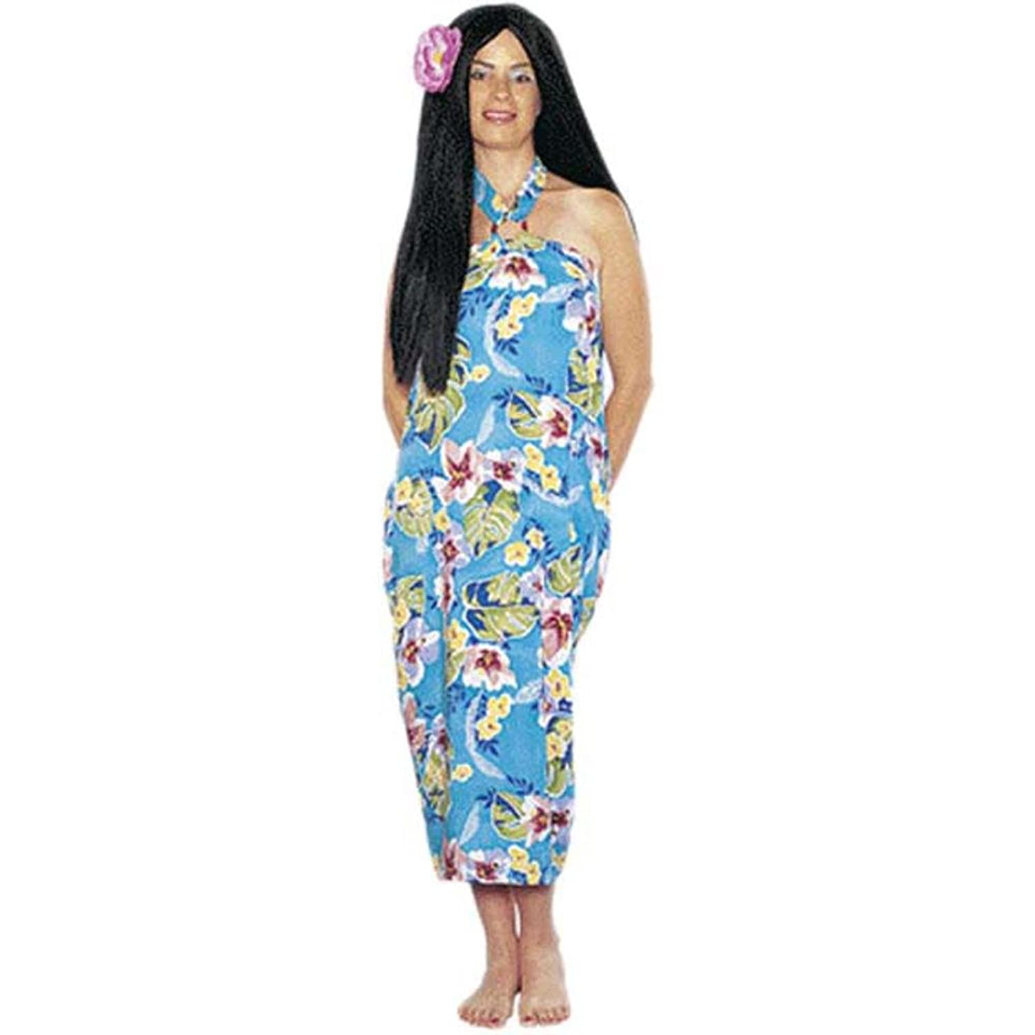 Amazon.com: Women's Hawaiian Luau Dress Halloween Costume (Size ...
