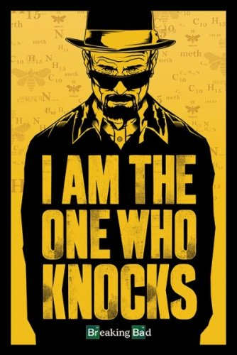 Breaking Bad one knocks Poster product image