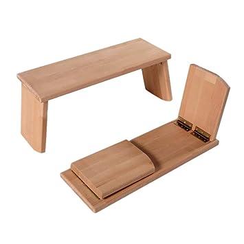Banc de méditation - pieds rabattables  Amazon.fr  Fournitures de bureau 17f65158cbd6