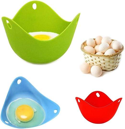 2 escalfadores de huevos para microondas, mini huevos de bifenol A ...