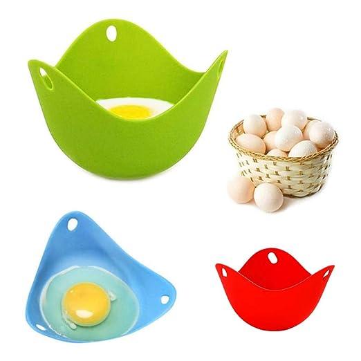 2 escalfadores de huevos para microondas, mini huevos de ...