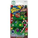 Mr.Sketch Scented Washable Marker Set 6/Pkg-Stix Holiday - Best Reviews Guide