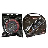Bullz Audio BGE4RP-4.4 Farad Digital Power Capacitor & 4 Gauge Amplifier Installation Kit