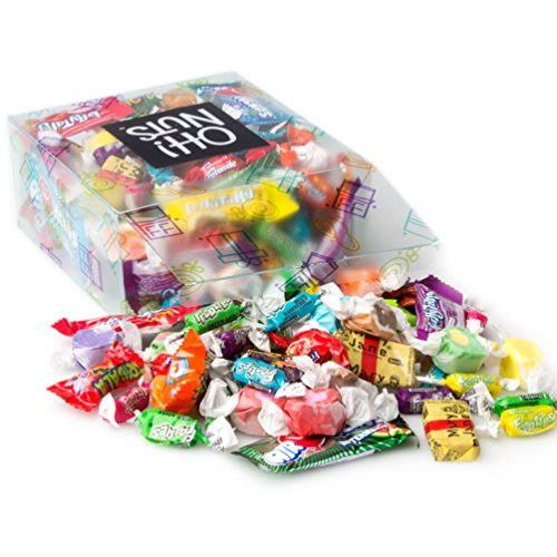 (Oh! Nuts Taffy Candy Trick or Treat Assortment Variety Care Package Gift Basket – Box of Favorites Laffy Taffy & Tootsie Rolls for Halloween, Thanksgiving, Holiday and Christmas Gift Baskets)