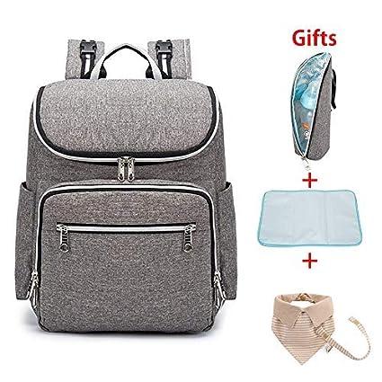 Bebé bolsa Mochila Pañales Cambiador Pañales pañal mochila impermeable aislamiento capacidad grande viaje bolsa bolsa almacenamiento